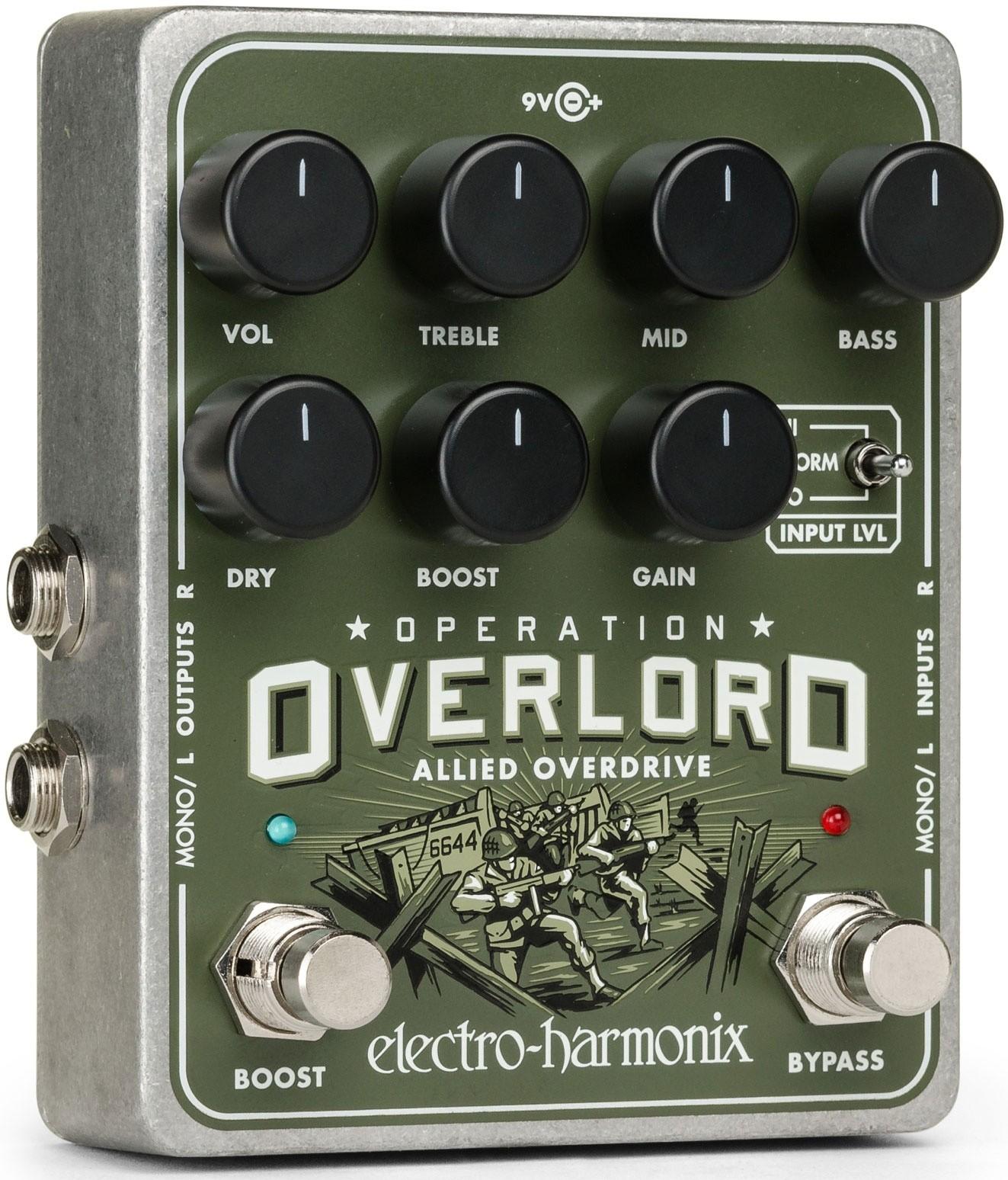 Electro Harmonix Operation Overlord