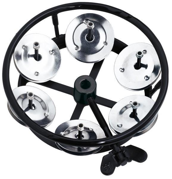 Meinl THH1-BK Hi-Hat Tamburin, Black (M)