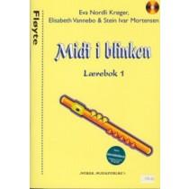 MIDT I BLINKEN - Fløyte, lærebok 1