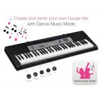 Casio CTK-1550 - 61 Tangenters Keyboard m/moderne rytmer