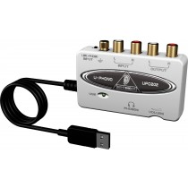 Behringer U-Phono UFO202 - USB lydkort for digitalisering av vinyl-plater