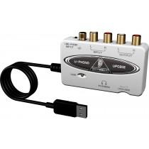 Behringer U-Phono UFO202 - USB lydkort for digitalisering av vinyl-plater