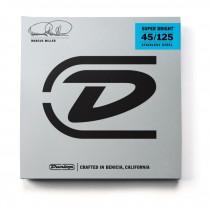 Dunlop DBMMS45125 - Marcus Miller super bright basstrenger 45-125 5-str.