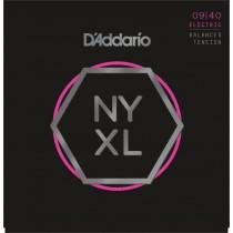 D'addario NYXL0940BT - Balanced Tension NYXL .009-.040