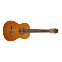 Salvador Cortez CC-22E Solid Top Artist Series classic guitar, solid cedar top, sapele back and sides, Fishman ISY-201 electronics