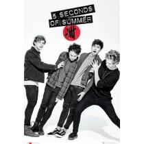"5 Seconds of Summer ""Lean"" - Plakat"