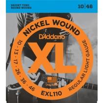 D'Addario EXL110 el-gitarstrenger