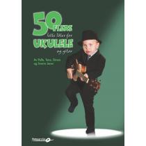50 flere lette låter for ukulele og gitar av Pelle, Tone, Simen, og Sverre Joner