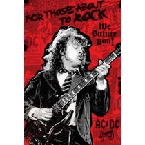 "AC/DC ""For those about to rock"" - Plakat"
