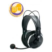 AKG HSC271 lukket hodetelefon med kondensatormikrofon