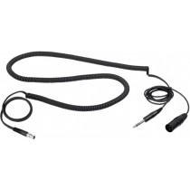 "AKG MK HS D kabel til HSD headset - 1/4"" stereojack - XLR for dynamisk mikrofon"