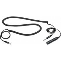 "AKG MK HS C kabel til HSC headset - 1/4"" stereojack - XLR for kondensatormikrofon"