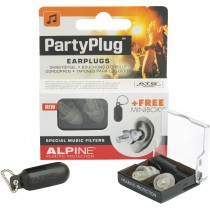 Alpine PartyPlug earplugs transparent