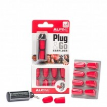 Alpine Plug&Go foam earplugs 5 pair blister