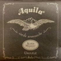 AQUILA CONCERT 104U UKULELE SUPER NYLGUT® (1 WOUND string) key of C – GCEA SET Low G - Strengesett til Ukulele.