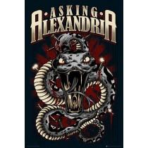 "Asking Alexandria ""Snake"" - Plakat"