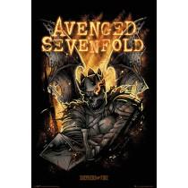 """Avenged Sevenfold """"Sheperd of Fire"""" - Plakat"""