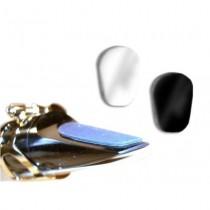 BG A11S - Gjennomsiktige munnstykkeputer 0.4mm