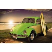 Bilplakat - VW Californian Beetle