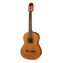 Salvador Cortez CC-10-SN Student Series classic guitar, cedar top, sapele back and sides, 7/8 senorita model