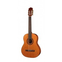 Salvador Cortez CC-10-JR Student Series classic guitar, cedar top, sapele back and sides, 3/4 junior model
