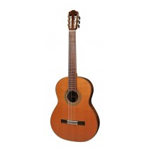 Salvador Cortez CC-110 All Solid Master Series classic guitar, solid cedar top, solid rosewood back and sides, with deluxe case