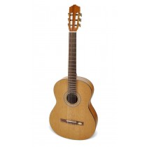 Salvador Cortez CC-20 Solid Top Artist Series classic guitar, solid cedar top, sapele back and sides, ABS bindings, satin finish