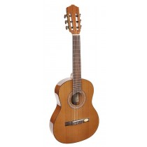 Salvador Cortez CC-22-BB Solid Top Artist Series classic guitar, solid cedar top, sapele back and sides, 1/2 bambino model