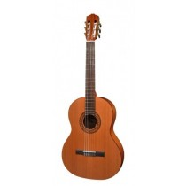 Salvador Cortez CC-22-SN Solid Top Artist Series classic guitar, solid cedar top, sapele back and sides, 7/8 senorita model