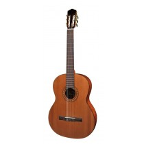 Salvador Cortez CC-25 Solid Top Artist Series classic guitar, solid cedar top, bubinga back and sides