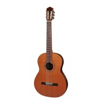 Salvador Cortez CC-90 All Solid Master Series classic guitar, solid cedar top, solid mahogany back and sides, with deluxe case