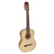 Salvador Cortez CF-55E Flamenco Series flamenco guitar, solid spruce top, sycamore back and sides, Fishman ISY-201 electronics