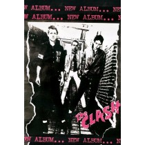 """Clash, The """"1st Album"""" - Plakat"""