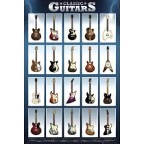 Classic Guitars - Plakat