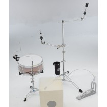 Dixon P-CPCJ4 Cajon Drum Kit HW-Pack setup