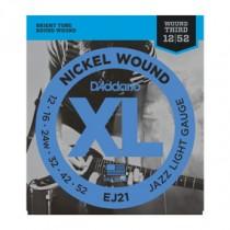 D'Addario EJ21 El. gitar strenger (XL-Jazz) (012-052)
