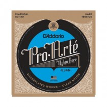 D'Addario EJ46 Pro Arte` High - Hard Tension nylonstrenger