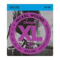 D'Addario EXL120 - El-gitarstrenger