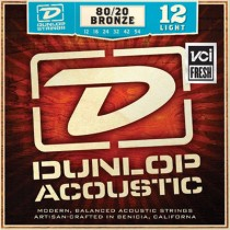 Dunlop DAB1254 - 80/20 Bronze Light 0.12 - akustiske stålstrenger