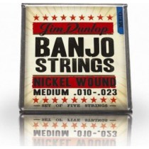 Dunlop DLN1115 - Banjostrenger nickel 5-str. 10-23+10