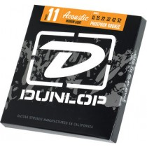 Dunlop PH BR DAP1152 M. Light - Stålstrengesett Akustisk 011-052