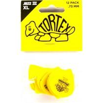 Dunlop Tortex Jazz III XL 0.73 - 12 pack