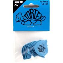 Dunlop Tortex Jazz III XL 1.0 - 12 pack