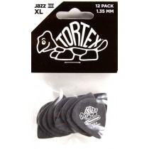 Dunlop Tortex Jazz III XL 1.35 - 12 pack