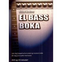 Elbassboka 1 + DVD og CD - Øivind Madsen