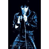 """Elvis Presley """"68 comeback pop art"""" - Plakat"""