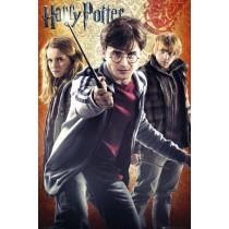 """Filmplakat - Harry Potter 7 """"Trio"""""""