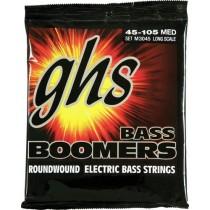 GHS M3045X BASS. BOOMERS. LONG+. MEDIUM. DYB45X-DYB105X. Strengesett til elektrisk bass.