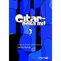 Gitarboka mi! 3 - Opplæringsbok m/CD, Sølvin Refvik *