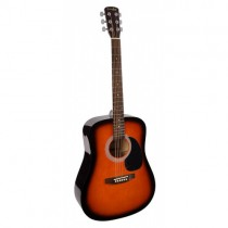 Grimshaw GSD-60-SB dreadnought guitar, rosewood fingerboard and bridge, diecast machine heads, sunburst